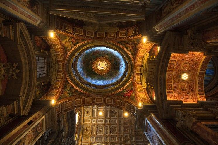 Sklepienie kaplicy