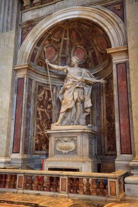św. Longinus - dzieło Berniniego