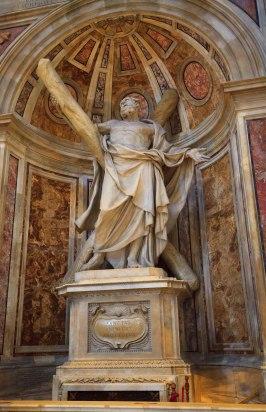 św. Andrzej - Brat św. Piotra - Dzieło Francois'a Duquesnoya
