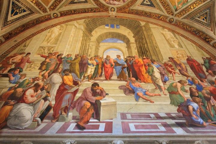 Szkoła Ateńska - Rafael Santi