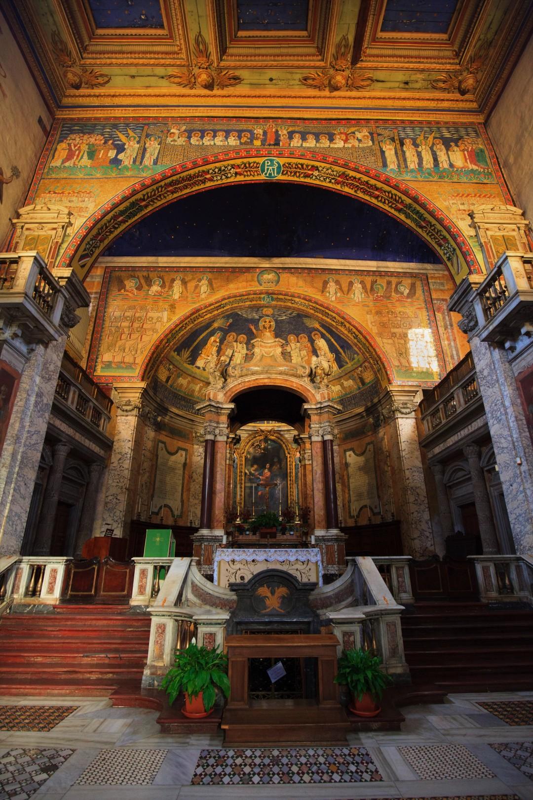 Ołtarz kościół św. Praksedy