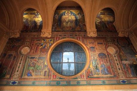 Loggia - widok przepięknych mozaik