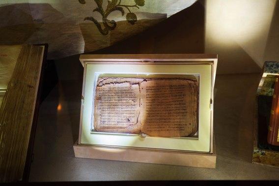Pierwsza kopia listu św. Pawła,