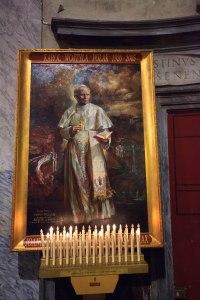 Obraz przedstawiający Jana Pawła II