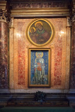 Św. Sebastian - mozaika bizantyjska