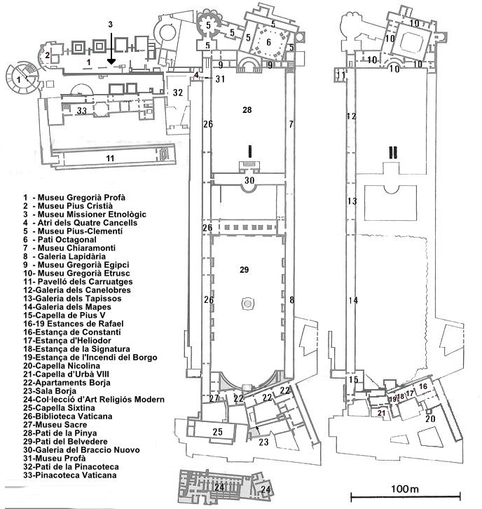 Mapa Muzeów - źródło Wikipedia